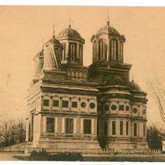 215 - Arges, Manastirea CURTEA de ARGES - old postcard - unused - Carte Postala Muntenia dupa 1918, Necirculata, Printata