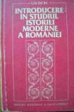 Introducere In Studiul Istoriei Moderne A Romaniei - G. D. Iscru ,526767