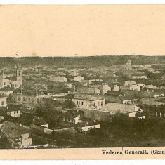 1839 - Arges, PITESTI, vedere generala - old postcard - unused - Carte Postala Muntenia 1904-1918, Necirculata, Printata