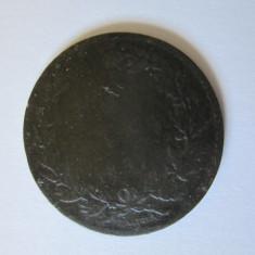 MONEDA 5 BANI 1867 HEATON - Medalii Romania