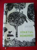 VANATUL ROMANIEI - VASILE COTTA SI MIHAI BODEA ,STARE FOARTE BUNA A CARTII !