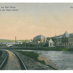 3128 - Bukowina, Suceava, VATRA-DORNEI, Railway - old postcard - unused - Carte Postala Bucovina 1904-1918, Necirculata, Printata