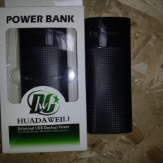 POWER BANK + TRIPLA IESIRE USB DE 2 A SI 1 A telefon tableta 18000maH 18 amperi - Baterie externa