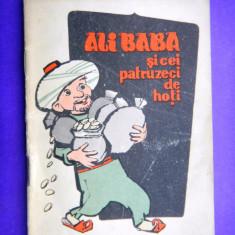 ALI BABA SI CEI PATRUZECI DE HOTI Colectia Traista cu povesti - Carte de povesti
