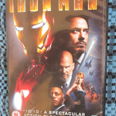 IRON MAN (1 DVD FILM - ORIGINAL - CA NOU!!!), Engleza