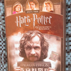 HARRY POTTER si PRIZONIERUL DIN AZKABAN (2 DVD-uri FILM - ORIGINALE - CA NOI!!!) - Film SF, Romana