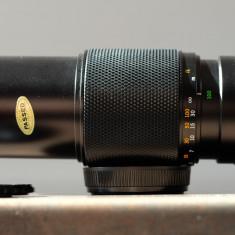 Obiectiv foto zoom 100-200mm/5  Olympus montura OM pt Olympus 4/3 Canon