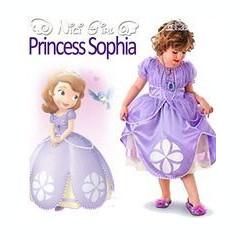 COSTUM princessa sofia - Costum petrecere copii