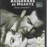 FILM - Fred MacMurray - ASUGURARE DE MOARTE (DOUBLE IDEMNITY) DVD - Film Colectie, Romana