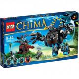 Vand Lego Chima 70008 Gorzan's Gorilla Striker, nou sigilat, 505 piese, 8-14 ani