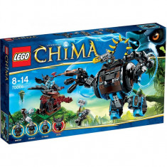 Lego Chima 70008 Berbecul-gorila a lui Gorzan's Gorilla Striker 505 piese NOU - LEGO Legends of Chima