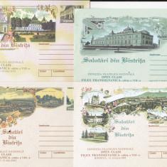Bnk fil Lot 4 intreguri postale 2002 - Salutari din Bistrita