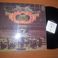 Handel-Organ Concerti (Nicolas Kynaston/Arthur Davison) (EMI Anglia) disc vinil - Muzica Clasica emi records