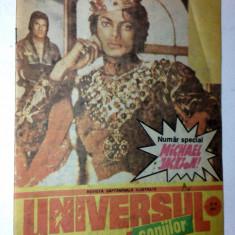 Revista Universul Copiilor, 5-6/ 1991 numar special Michael Jackson - Reviste benzi desenate