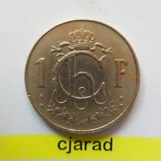 Moneda 1 Franc - Luxemburg 1960 *cod 1312, Europa