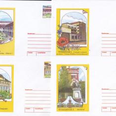 Bnk fil Lot 8 intreguri postale 2001 - Timisoara