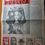 Ziarul opinia publica anul 1 nr. 1 mai 1990