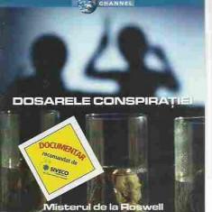 DISCOVERY CHANNEL - DOSARELE CONSPIRATIEI MINISTERUL DE LA ROSWELL DVD - Film documentare, Romana