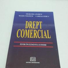 DREPT COMERICAL PENTRU ÎNVĂŢĂMÂNTUL ECONOMIC - SMARANDA ANGHENI 2004 - Carte Drept comercial
