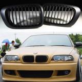 Grile negre BMW Seria 3 E46 COUPE si CABRIO pana in 2003  (non facelift), 3 cupe (E46) - [1999 - 2013]