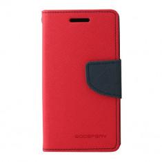 Toc My-Fancy Samsung Galaxy Trend Lite2/Ace NXT Rosu/Albastru - Husa Telefon Atlas, Textil