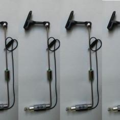 Set 4 Swinger / Swingeri Cu led pentru Avertizori Pescuit - Avertizor pescuit