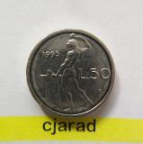 Moneda 50 Lire - Italia 1995 *cod 1344 a.UNC, Europa