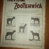 Revista zootehnica anul 1,nr.1-2 din 1 aprilie 1934