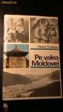PE VALEA MOLDOVEI -VICTOR TUFESCU 1970,CARTONATA CU SUPRACOPERTA
