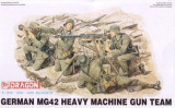 + Kit figurine 1/35 Dragon 6064 - MG42 Heavy Machine Gun Team (fara cutie) +