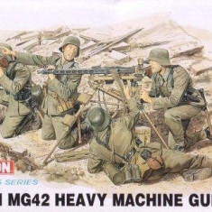+ Kit figurine 1/35 Dragon 6064 - MG42 Heavy Machine Gun Team (fara cutie) +