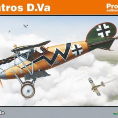 Macheta avion biplan ALBATROS D.Va ~ Profipack Edition by EDUARD - Macheta Aeromodel Alta, 1:48