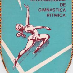 Fanion Concurs International de Gimnastica Ritmica - anii `80