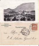 Brasov, Kronstadt  -Vedere generala-  reclama, clasica, rara, Necirculata, Printata