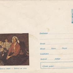 Bnk fil Intreg postal 1971 - Corneliu Baba - Odihna pe cimp