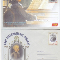 Bnk fil Lot 2 Intreguri postale 2006 - Anul international Mozart