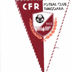 Fanion fotbal CFR TIMISOARA - anii`80