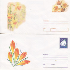 Bnk fil Lot 4 Intreguri postale 1999 - Flori
