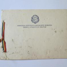 FELICITARE,, LA MULTI ANI'' AMBASADA R.S.R. BIROUL ATASATULUI MILITAR 1970