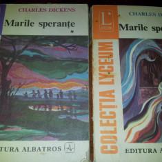 MARILE SPERANTE - CHARLES DICKENS/TD - Roman dragoste