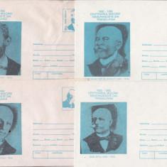 Bnk fil Lot 4 Intreguri postale 1992 - Centenarul Miscarii Memorandiste