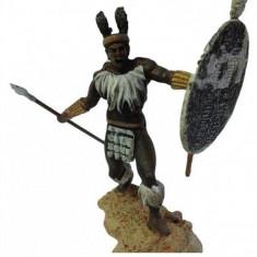 Soldat din plumb - Zulu Warrior Sec. XIX - BC scara 1:32