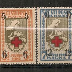 Estonia.1926 Crucea Rosie-supr. HE.10, Nestampilat