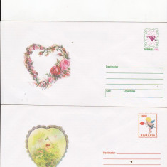 Bnk fil Lot 2 Intreguri postale 2000 - Ziua indragostitilor