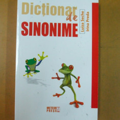 Dictionar de sinonime L. Seche I. Preda Bucuresti 2014 - Dictionar sinonime