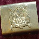 Pafta curea Militara - perioada comunista - Stema RSR !!!