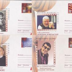 Bnk fil Lot 6 Intreguri postale 2006 - Actori romani celebrii