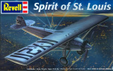 Macheta avion REVELL Spirit of St Louis (sigilat), 1:48