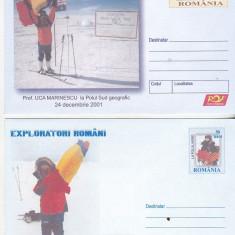 Bnk fil Lot 2 intreguri postale 2005 - Exploratori romani