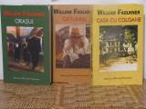 WILLIAM FAULKNER -ORASUL ,CATUNUL, CASA CU COLOANE .3 VOL, Rao, 2005